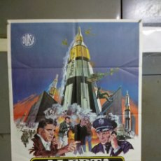 Cine: CDO 007 ALERTA MISILES ROBERT ALDRICH BURT LANCASTER POSTER ORIGINAL 70X100 ESTRENO. Lote 192812663