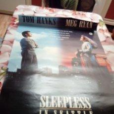 Cine: POSTERS. SLEEPLESS IN SEATTLE. MEDIDAS. 101,8 X 68´6. BBB. Lote 192814587