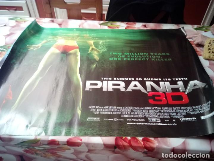 POSTERS. PIRANHA 3D. ( PIRAÑA 3). MEDIDAS 102 X 76. BBB (Cine - Posters y Carteles - Terror)