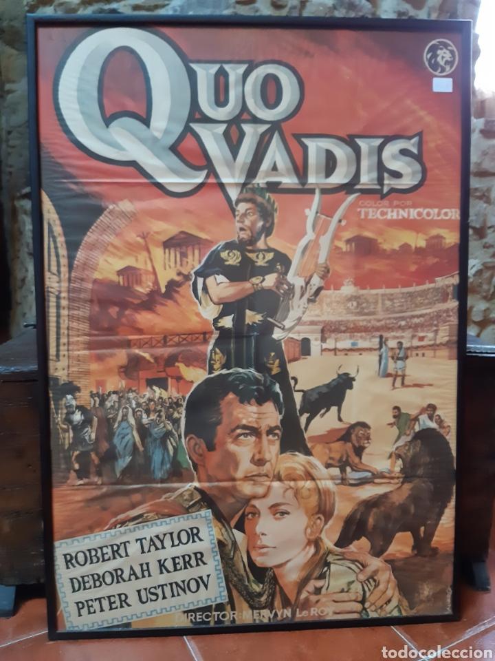 CARTEL QUO VADIS (Cine - Posters y Carteles - Bélicas)