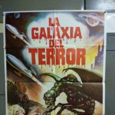 Cine: CDO 036 LA GALAXIA DEL TERROR EDWARD ALBERT SCI-FI HORROR POSTER ORIGINAL 70X100 ESTRENO. Lote 192897096