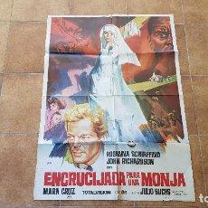 Cinema: POSTER CARTEL ENCRUCIJADA PARA UNA MONJA - 1967 (100 X 70 CMS. APROX.) DIR. JULIO BUSCH. Lote 192934196