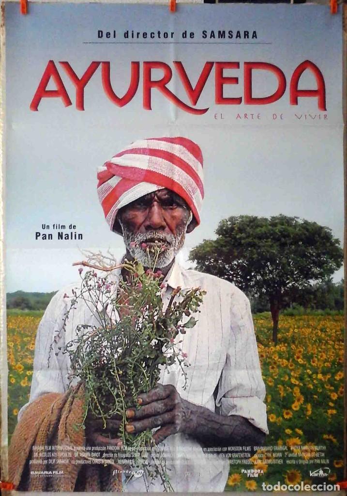 ORIGINALES DE CINE: AYURVEDA: EL ARTE DE VIVIR (PAN NALIN) 70X100 CMS. (Cine - Posters y Carteles - Documentales)