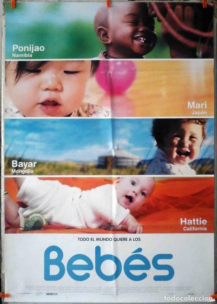 ORIGINALES DE CINE: TODO EL MUNDO QUIERE A LOS BEBÉS (THOMAS BALMES) (Cine - Posters y Carteles - Documentales)