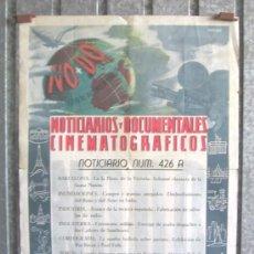 Cine: NODO NOTICIARIOS Y DOCUMENTALES CINEMATOGRAFICOS Nº 426 . Lote 192944371