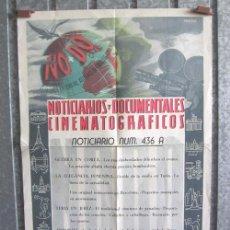 Cine: NODO NOTICIARIOS Y DOCUMENTALES CINEMATOGRAFICOS Nº 436 A . Lote 192944477