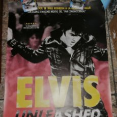 Cine: POSTER ORIGINAL ELVIS UNLEASHED 100X70. Lote 227482490