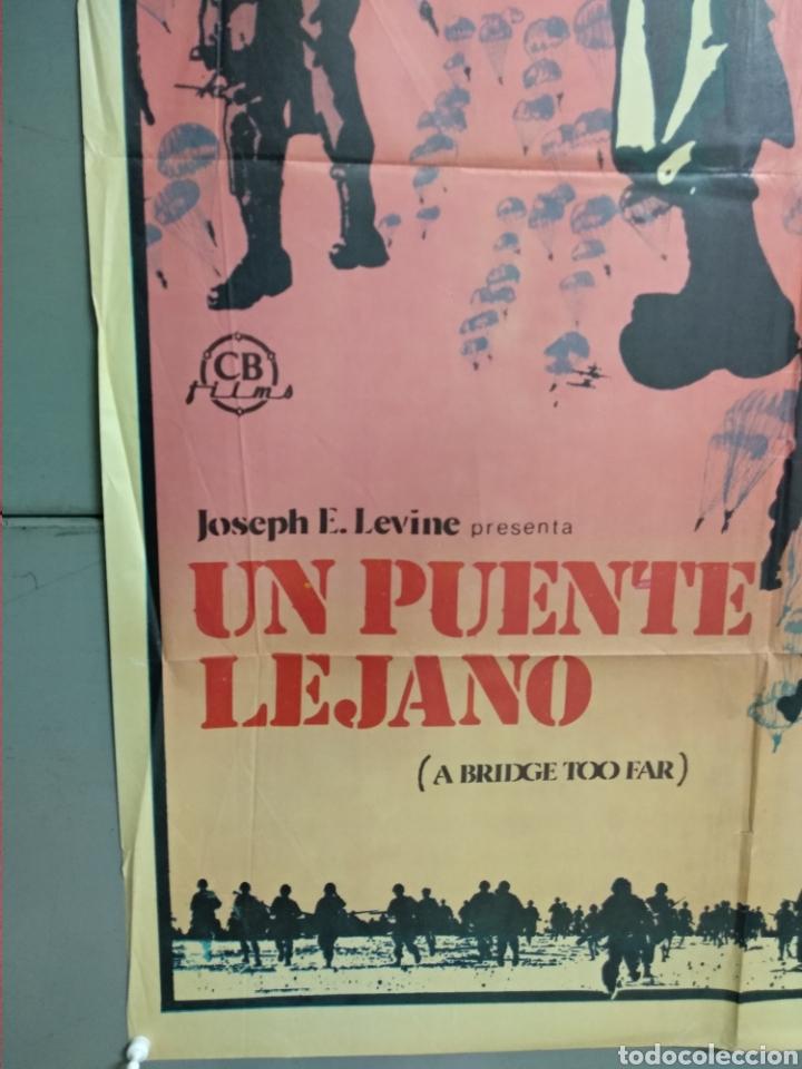 Cine: CDO 071 UN PUENTE LEJANO ROBERT REDFORD MICHAEL CAINE SEAN CONNERY POSTER ORIGINAL 70X100 ESTRENO - Foto 3 - 193000821