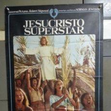 Cine: CDO 072 JESUCRISTO SUPERSTAR NORMAN JEWISON TED NEELEY POSTER ORIGINAL ESTRENO 70X100. Lote 193001166