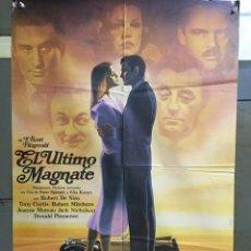 Cine: CDO 076 EL ULTIMO MAGNATE ELIA KAZAN ROBERT DE NIRO LANDI POSTER ORIGINAL 70X100 ESTRENO. Lote 193002600