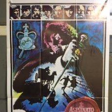 Cine: CDO 087 ASESINATO POR DECRETO SHERLOCK HOLMES CHRISTOPHER PLUMMER POSTER ORIGINAL 70X100 DEL ESTRENO. Lote 193007030
