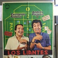 Cinema: CDO 090 LOS LIANTES ANDRES PAJARES FERNANDO ESTESO JANO POSTER ORIGINAL 70X100 ESTRENO. Lote 193008172