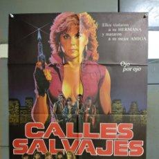 Cine: CDO 103 CALLES SALVAJES LINDA BLAIR POSTER ORIGINAL 70X100 ESTRENO. Lote 193012931