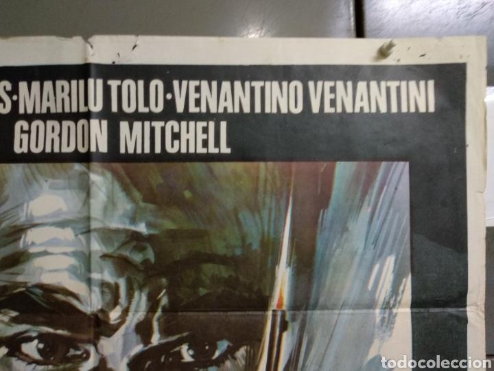 Cine: CDO 124 UN ASESINO PARA SU MAJESTAD KERWIN MATHEWS POSTER ORIGINAL ESTRENO 70X100 - Foto 2 - 193110943