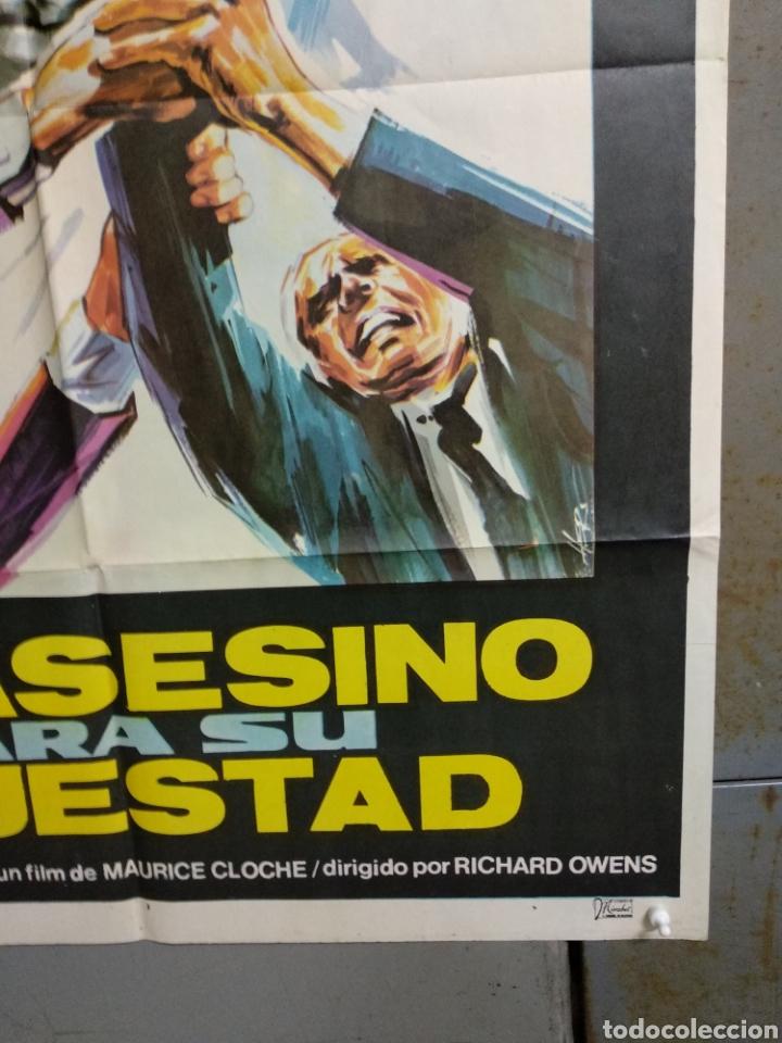 Cine: CDO 124 UN ASESINO PARA SU MAJESTAD KERWIN MATHEWS POSTER ORIGINAL ESTRENO 70X100 - Foto 6 - 193110943