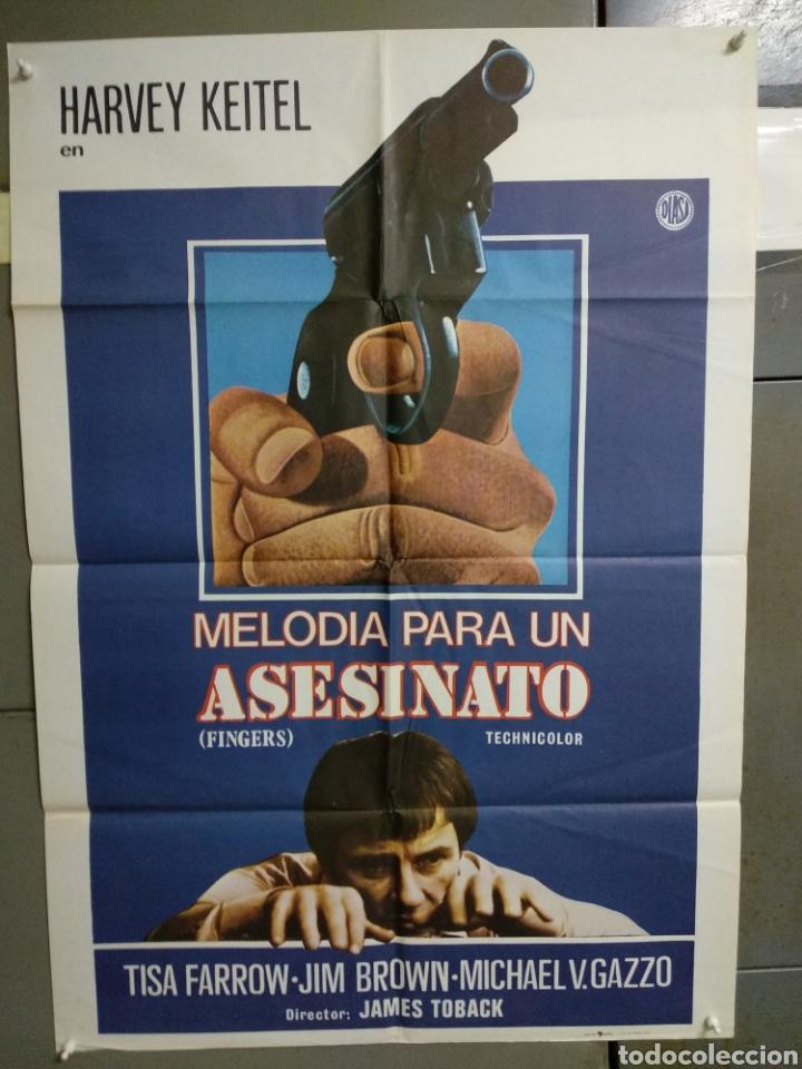 CDO 129 MELODIA PARA UN ASESINATO HARVEY KEITEL POSTER ORIGINAL 70X100 ESTRENO (Cine - Posters y Carteles - Suspense)