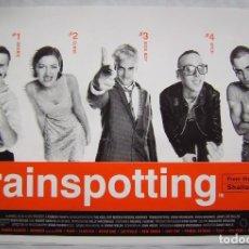Cine: TRAINSPOTTING, CON EWAN MCGREGOR, POSTER 61 X 91 CMS. . Lote 193187972