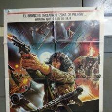 Cinéma: CDO 165 FUGA DEL BRONX ENZO G. CASTELLARI SCI-FI SCIOTTI POSTER ORIGINAL 70X100 ESTRENO. Lote 193249625