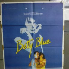 Cine: CDO 163 BETTY BLUE JEAN-JACQUES BEINEIX BEATRICE DALLE POSTER ORIGINAL 70X100 ESTRENO. Lote 193256618