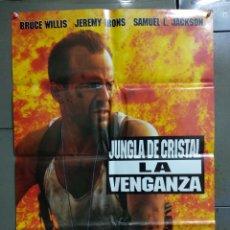 Cine: CDO 177 JUNGLA DE CRISTAL 3 LA VENGANZA BRUCE WILLIS POSTER ORIGINAL 70X100 ESTRENO. Lote 193260847
