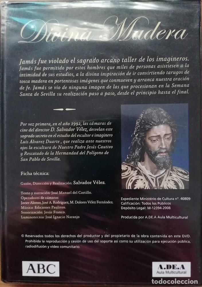 Cine: Divina Madera. DVD Precintado. ABC - Foto 2 - 193377823