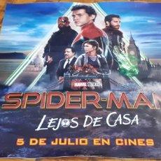 Cine: SPIDERMAN - PEGATINA CINE - LEJOS DE CASA. Lote 193572448