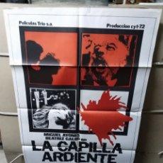 Cine: LA CAPILLA ARDIENTE CARLOS PUERTO POSTER ORIGINAL 70X100 YY (2260). Lote 193805563