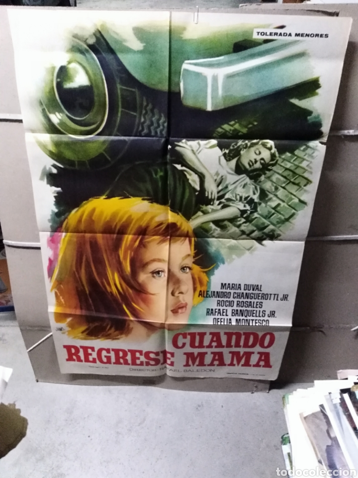 CUANDO REGRESE MAMA POSTER ORIGINAL 70X100 YY (2266) (Cine- Posters y Carteles - Drama)