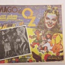 Cine: EL MAGO DE OZ,JUDY GARLAND,LOBBY CARD MEXICO. Lote 193955768