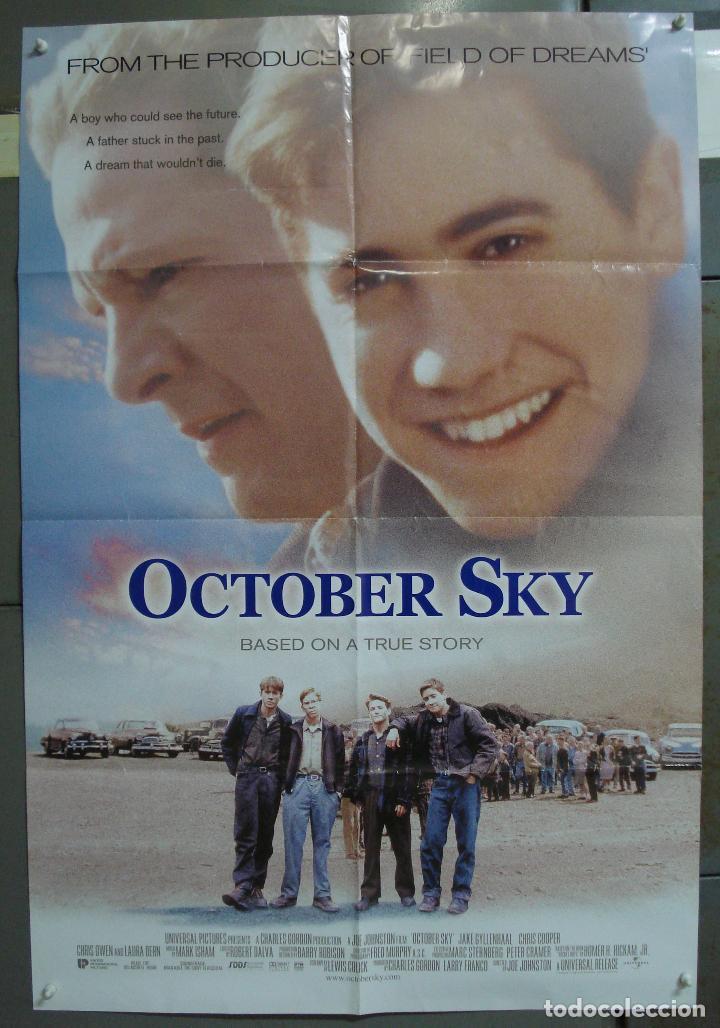 CDO 211 OCTOBER SKY JAKE GYLLENHAAL POSTER ORIGINAL AMERICANO 70X105 (Cine- Posters y Carteles - Drama)