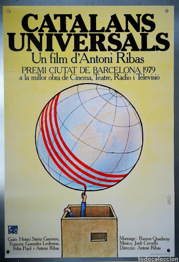 CATALANS UNIVERSAL - CARTEL DE CINE - 1978 (Cine - Posters y Carteles - Documentales)