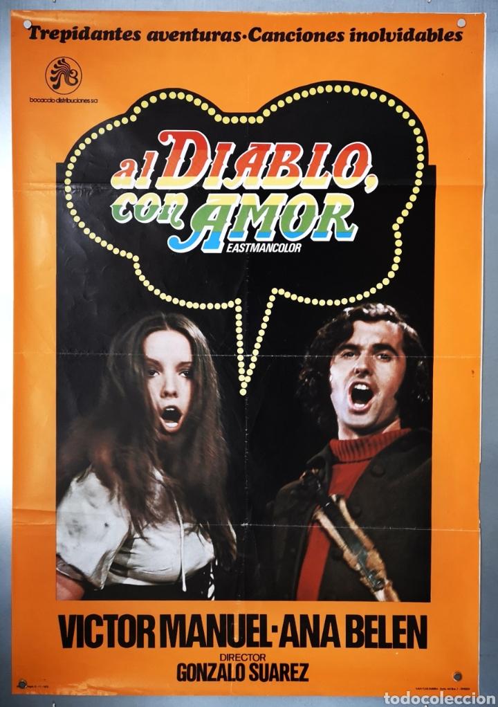 AL DIABLO CON AMOR - 1973 (Cine - Posters y Carteles - Clasico Español)