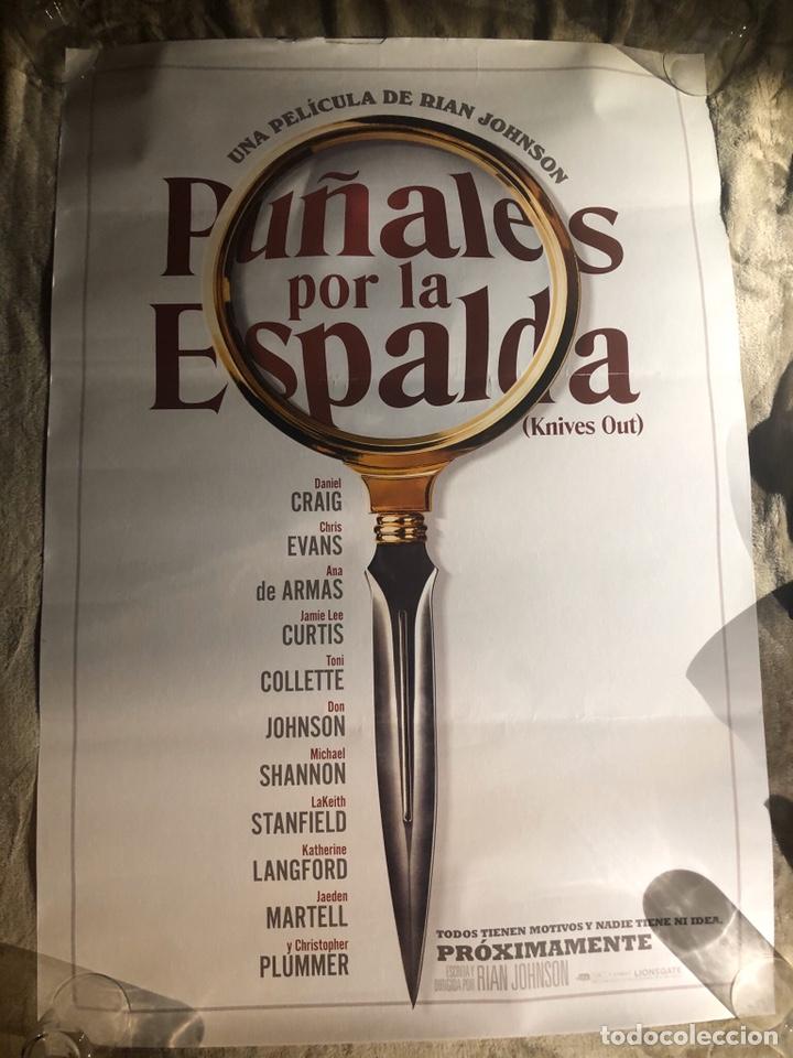 Cine: PUÑALES POR LA ESPALDA POSTER CINE 70x100cm - Foto 2 - 194059236