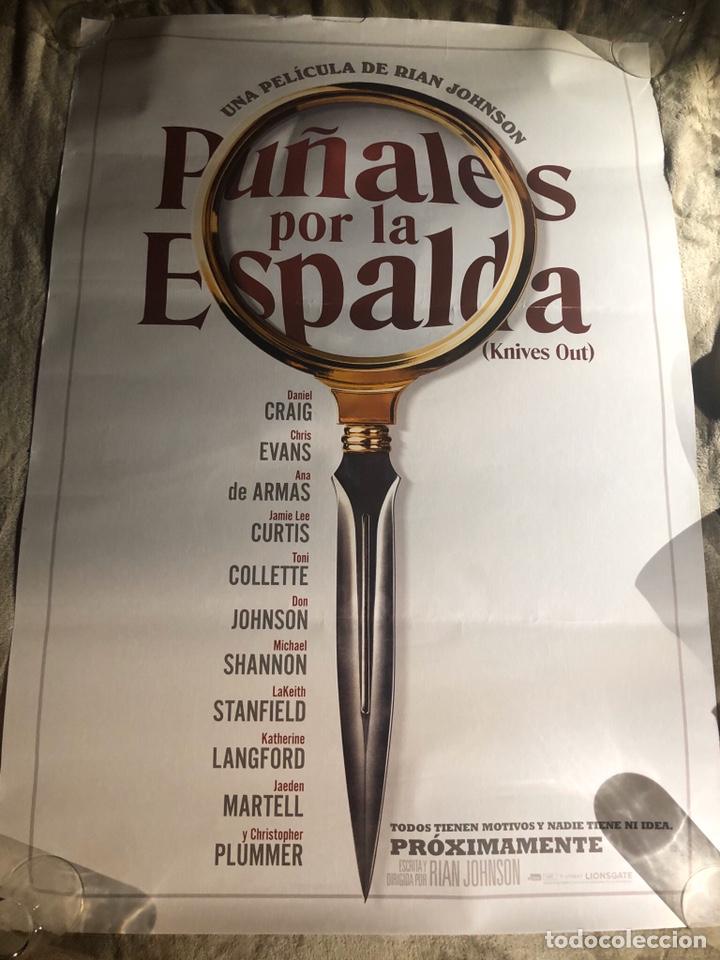 PUÑALES POR LA ESPALDA POSTER CINE 70X100CM (Cine - Posters y Carteles - Suspense)