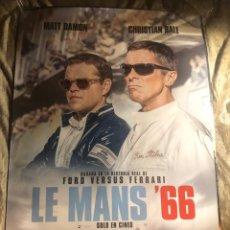 Cinéma: LE MANS 66 RARO POSTER CINE 70X100CM. Lote 194060463