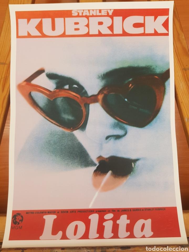 LOLITA STANLEY KUBRICK. CARTEL DE CINE LITOGRAFICO PARA ENMARCAR. REPROGRAFIA. (Cine - Posters y Carteles - Comedia)