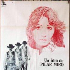 Cine: GARY COOPER QUE ESTÁS EN LOS CIELOS. CARTEL ORIGINAL. 70X100. Lote 194175256