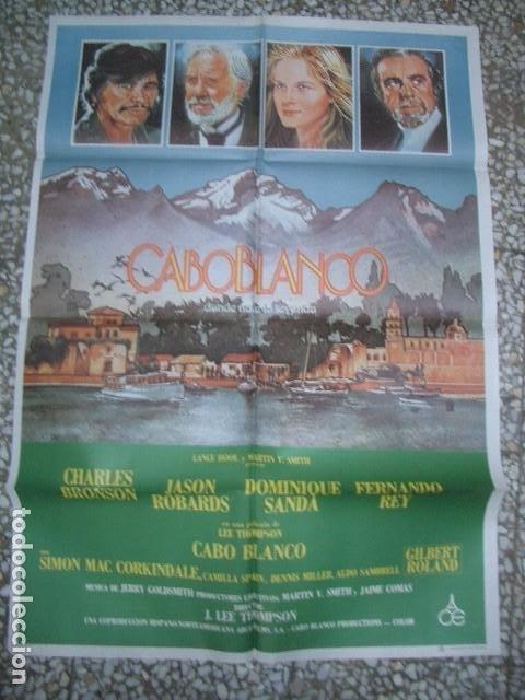 PÓSTER ORIGINAL DE 100X70CM CABO BLANCO (Cine - Posters y Carteles - Aventura)