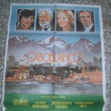 Cine: PÓSTER ORIGINAL DE 100X70CM CABO BLANCO. Lote 194183346