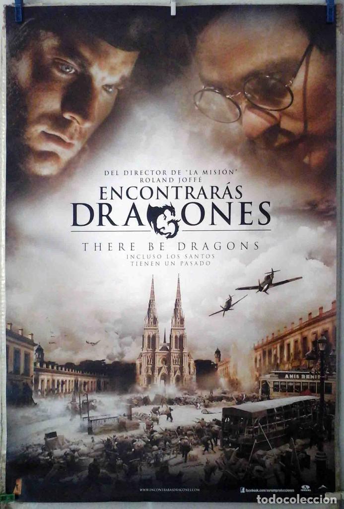 ORIGINALES DE CINE: ENCONTRARÁS DRAGONES (CHARLIE COX, WES BENTLEY, DOUGRAY SCOTT) 70X100 EN ROLLO (Cine- Posters y Carteles - Drama)