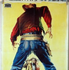 Cine: TIERRA DE VIOLENCIA. ROBERT RYAN-VIRGINIA MAYO. CARTEL ORIGINAL 1959. 70X100. Lote 194193948