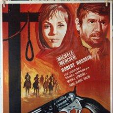 Cine: UNA CUERDA, UN COLT. CARTEL ORIGINAL 1969. 70X100. Lote 194194565