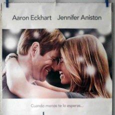 Cine: ORIGINALES DE CINE: LOVE HAPPENS (AARON ECKHART, JENNIFER ANISTON) 70X100 CMS. EN ROLLO. Lote 194195633