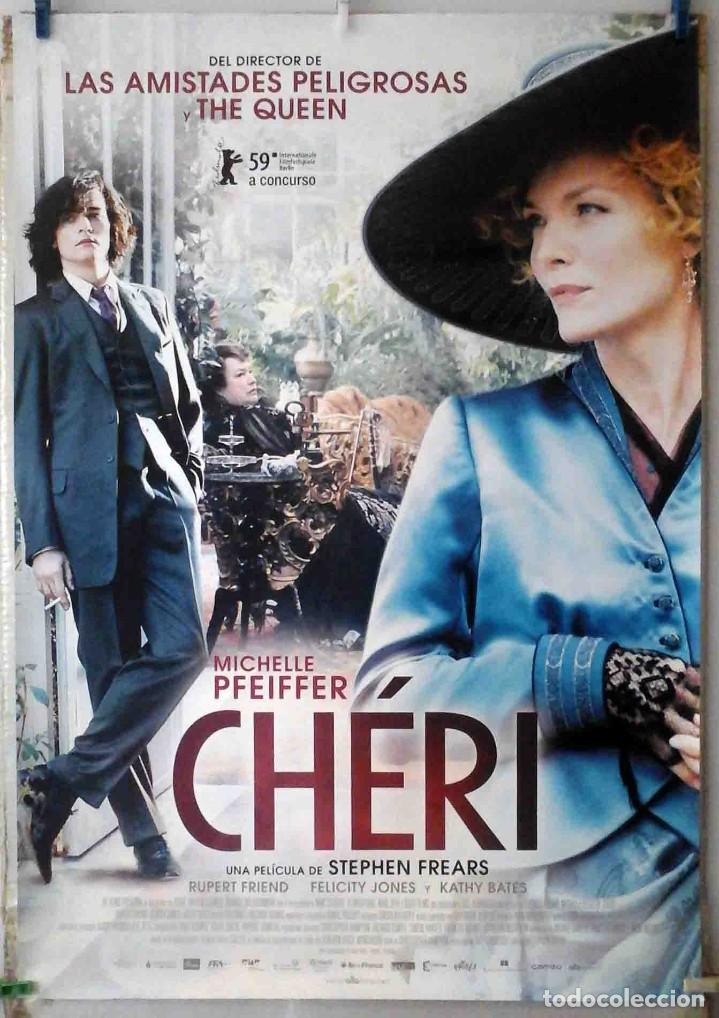 ORIGINALES DE CINE: CHERI (MICHELLE PFEIFFER) 70X100 CMS. EN ROLLO (Cine - Posters y Carteles - Comedia)