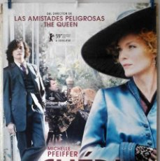 Cine: ORIGINALES DE CINE: CHERI (MICHELLE PFEIFFER) 70X100 CMS. EN ROLLO. Lote 194195961