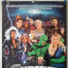 Cine: ORIGINALES DE CINE: SUPERHERO MOVIE (DRAKE BELL, SARA PAXTON, CHRISTOPHER MCDONALD, LESLIE NIELSE) . Lote 194198416