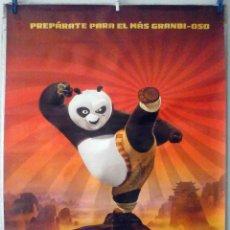 Cine: ORIGINALES DE CINE: KUNG FU PANDA - 70X100 CMS. EN ROLLO.. Lote 194199681