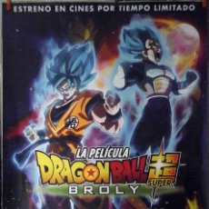 Cine: ORIGINALES DE CINE: DRAGON BALL SUPER BROLY - 70X100 CMS. EN ROLLO. Lote 194207801