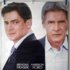Cine: ORIGINALES DE CINE: MEDIDAS EXTRAORDINARIAS (HARRISON FORD, BRENDAN FRASER) 70X100 - EN ROLLO.. Lote 194208152