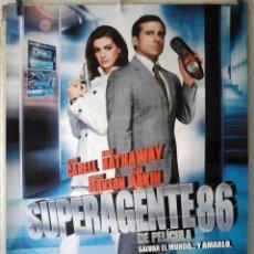 Cine: ORIGINALES DE CINE: SUPERAGENTE 86 PETER SEGAL (STEVE CARELL, ANNE HATHAWAY) 70X100. EN ROLLO. Lote 194209150
